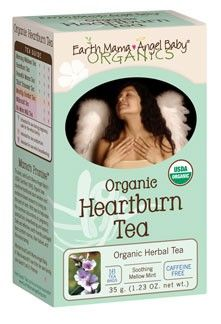 Organic Heartburn Tea - safe for pregnancy - thanks T - I soooo need this right now :/