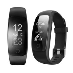 ID107 PLUS HR Real Time Heart Rate Monitor Fitness Tracker Smart Band for iPhone 7 Samsung S8 Xiaomi #fitnesstrackerforkids,