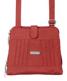 Another great find on #zulily! Tomato Roundabout Crossbody Bag by baggallini #zulilyfinds