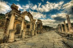 2 Day Ephesus and Pamukkale Tour From Istanbul This 2 day tour departs from Istanbul and consist of all the major attractions of Ephesus and Pamukkale such as Temple of Artemis, The Celsius Library, House of the Virgin Mary, Old Gates, Cemetery, Theatre of Hierapolis, The Calcified Pools and Travertines as well as swimming in Cleopatra Pool.   Istanbul to Izmir Flight and Daily Ephesus Tour ( L )Pick up from the hotel early morning and transfer to the a...