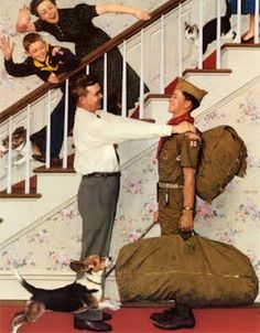 Scouts - Norman Rockwell