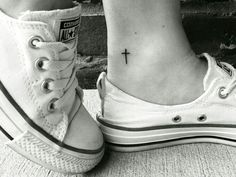 Ankle small tattoo