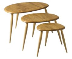 ercol stacking tables: ercol.com