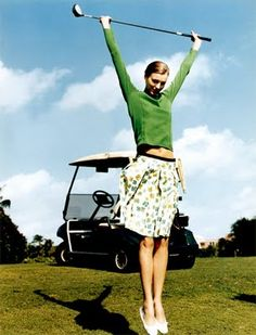Country Style Chic: Golf Glamour