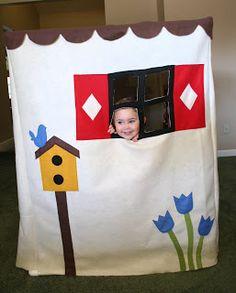 Fold up fort for kids
