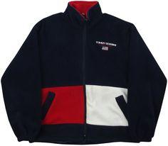 Image of Vintage Tommy Designs Fleece Jacket Size XL