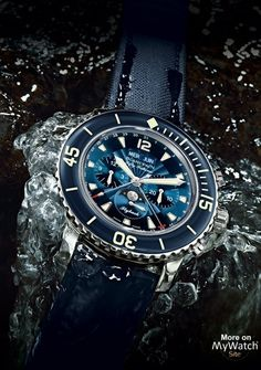 Fifty Fathoms Chronographe Flyback Quantième Complet  Reference:  5066F-1140-52B