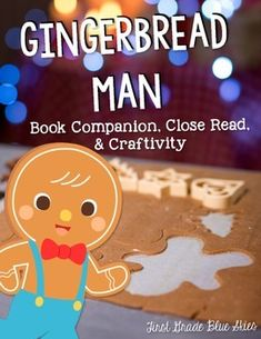 If you love the Gingerbread Man stories, then this is the pack for you!  It includes the patterns to make your own large, stuffed Gingerbread people for an adorable bulletin board.  It also includes 18 writing activity choices  -including one for each of the following versions: Gingerbread Girl by Lisa Campbell Ernst Gingerbread Baby by Jan Brett Gingerbread Man Loose in the School by Laura Murray Gingerbread Cowboy by Janet Squires  I am also including a Gingerbread Close Read with two ...