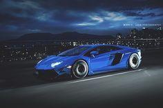 Chrome blue Lamborghini Aventador in motion Lamborghini Aventador, Lamborghini Concept, Automotive Photography, Car Photography, Luxury Automotive, All Cars, Exotic Cars, Motor Car, Cars Motorcycles