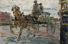 """ Jack Butler Yeats (Irish, The Learner, Oil on panel, 9 x 14 in. Irish Painters, Jack B, Irish Art, Art For Art Sake, How To Increase Energy, Famous Artists, Animal Paintings, Portrait, Beautiful Horses"