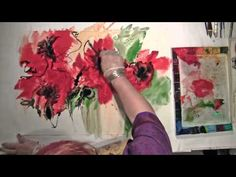 ▶ TerraSkin Paper Painting: Part 2 - Watercolour and Ink [HD] - YouTube