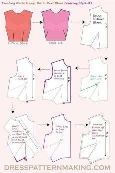 Dress Sewing Patterns, Sewing Patterns Free, Free Sewing, Clothing Patterns, Skirt Patterns, Coat Patterns, Blouse Patterns, Blouse Sewing Pattern, Sewing Basics