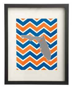 8x10 Print  University of Florida by paperfreckles on Etsy, $15.00