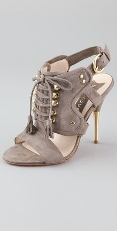Boutique 9  Commons Suede Lace Up Sandals