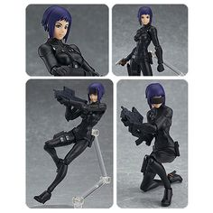 Ghost in the Shell Motoko 2015 Version Figma Action Figure