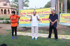 Mr. Bhure Lal, Founder, Thakurdvara Trust, sharing his view about Yoga on the occasion of #InternationalYogaDay 2016