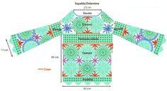 The most popular Crochet Tunic Cardigan Au Crochet, Crochet Tunic Pattern, Crochet Pillow, Crochet Cardigan, Crochet Motif, Crochet Stitches, Knit Crochet, Crochet Patterns, Crochet Hippie