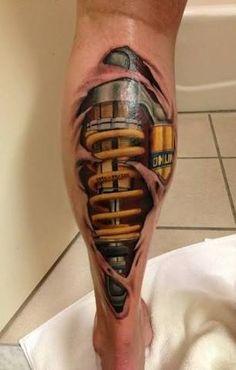 Resultado de imagen para motorcycle tattoo