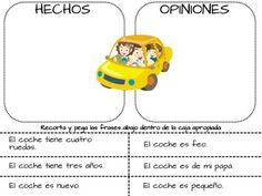 fact or opinion packet for lower elementary. 100% in Spanish. $