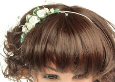 Wedding Sideband Bridal Headdress Wedding by AnnieLaurieBridal
