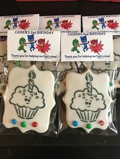 Paint your own Birthday Cookie - PYO Cookie - Birthday cookie Royal Icing Cookies, Sugar Cookies, Baby Cookies, Iced Cookies, Valentine Cookies, Birthday Cookies, Biscuit Spread, Cookie Designs, Cookie Ideas