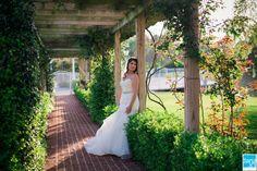 Rose Hill Plantation NC Bridal Portrait