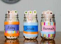 Get your kids to help you around the house with these fun and simple to make chore jars!   Our Three Peas #NaturallyClean #CollectiveBias