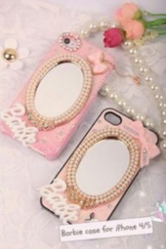 PO barbie case for iphone