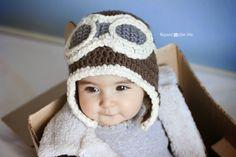 Leese Crochet : Crochet Aviator Hat Pattern