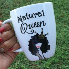 Natural Queen Mug available now on www.etsy.com/shop/designsbyjazzy