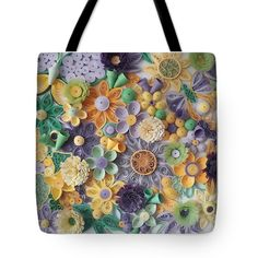 Mom Birthday, Green Flowers, Basic Colors, I Fall In Love, Bag Sale, Handmade Art, Color Show, Colorful Backgrounds, Fine Art America