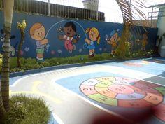 WILL ARTE GRAFFITI: BRINCADEIRAS PEDAGÓGICAS NO CHÃO