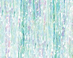 Frozen Iridescent Birthday Backdrop