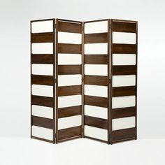 Joaquim Tenreiro, Screen in rosewood and white lacquered wood panels