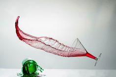 flying martini by Dimitris Stenidis on 500px