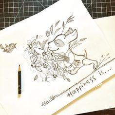 Messy sketching without an eraser.  #emotions.#happiness . . . . . . #doodle #doodleoftheday #makeartthatsells @makeartthatsells #matskidbook #alisabloom #sketchoftheday #sketchaday #paperandpencil #creative #illustrationartist #puppydog #puppylife #flowersinbloom #doodlesofinstagram