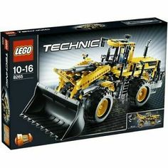 LEGO TECHNIC Front Loader King of the construction site! This detailed and rugged front loader has a massive bucket scoop that can raise, lower and tip out its cargo. Move the cabin or turn the gear wheel for realistic articul. Lego Technic, Lego Instruction Books, Black Friday Toy Deals, Fishing Store, Military Armor, Lego Construction, Treasure Planet, Lego Modular, Toys