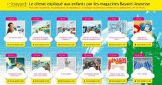 Le climat expliqué aux enfants de 3 à 18 ans via @Bayard_Editions #gratuit #PDF #COP21