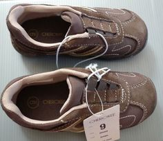 KIDS SHOES CHEROKEE SIZE 9 JIOVANI BROWN SNEAKERS  #Cherokee