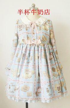 Recommendation: Angelic Pretty Replica ***Cream Cookie Collection*** Lolita OP and High Waist JSK >>> http://www.my-lolita-dress.com/angelic-pretty-replica-cream-cookie-collection-lolita-op-and-high-waist-jsk-hcm-6
