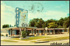 The Sandman Motel On U.S. 19 570 34th Street, North St. Petersburg, Florida Centrally located among the finest of restaurants, shopping centers and entertainment. All within convenient walking distance. Free TV and air-conditioning.