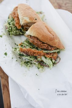Bakesale Betty's Famous Fried Chicken Sandwich in Oakland, California // Simone Anne