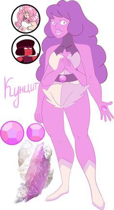 Steven Universe Fan fusion: Kunzite by Pancake222.deviantart.com on @DeviantArt