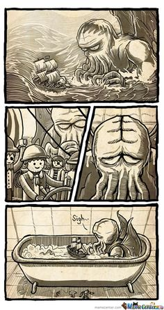 Poor Cthulhu ... #playmobil #cthulhu #lovecraft