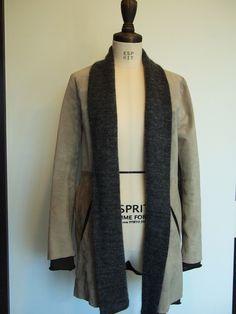 Jour H creer docking leather jacket