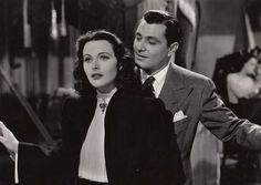 "Hedy Lamarr and Tony Martin in ""Ziegfeld Girl"" (1941)"
