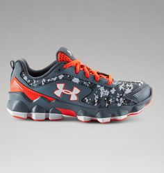 Boys' Pre-School UA Nitrous Running Shoes-tY SIZE 2