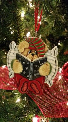 Storybook Teddy by KeepsakesbyKara on Etsy