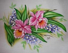 Afbeeldingsresultaat voor one-stroke hydrangea painting Acrylic Painting Lessons, Tole Painting, Fabric Painting, The Joy Of Painting, One Stroke Painting, Arte Floral, Watercolor Pencil Art, Hydrangea Painting, Painting Patterns