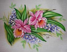 Pintura em Tecido - Técnica e Fotos | Artesanato - Cultura Mix